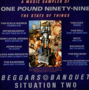 One Pound Ninety-Nine - A Music Sampler Of The State Of Things - Cover