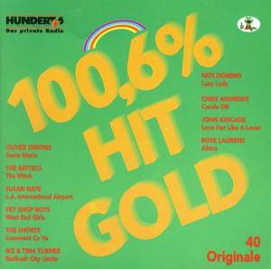 Cover - Jerry Butler & Betty Everett: 100,6 % Hit Gold - 40 Originale