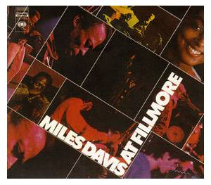 Miles Davis: At Fillmore - Cover
