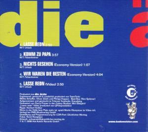 Die Ärzte: Lasse Redn (Single-CD) - Bild 2