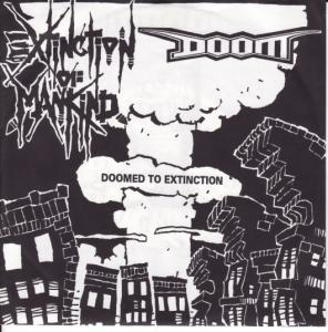 Extinction Of Mankind, Doom: Doomed To Extinction - Cover
