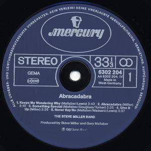 The Steve Miller Band: Abracadabra (LP) - Bild 4