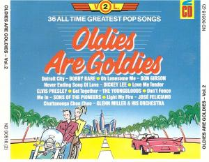 Oldies Are Goldies Vol. 2 - Cover