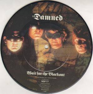 The Damned: Wait For The Blackout / Jet Boy, Jet Girl - Cover