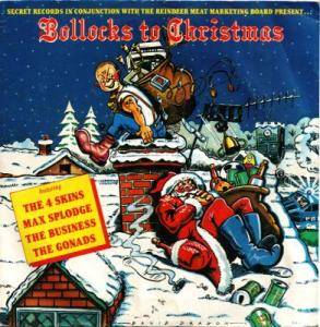 Bollocks To Christmas - Cover