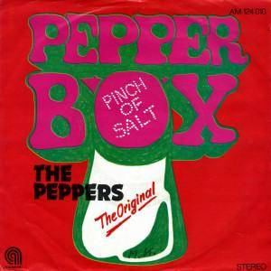 The Peppers: Pepper Box - Cover