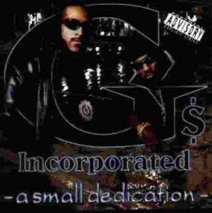 Cover - G's Incorporated: Small Dedication, A