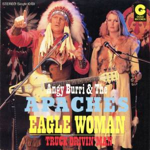 Cover - Angy Burri & The Apaches: Eagle Woman