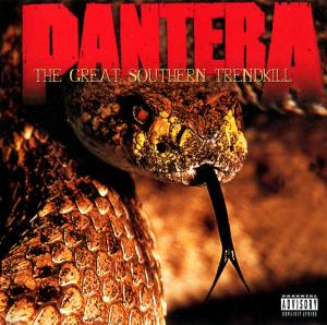 Pantera: Great Southern Trendkill, The - Cover