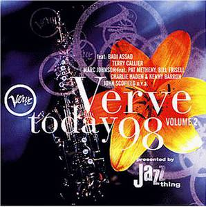 Verve Today 1998 - Cover