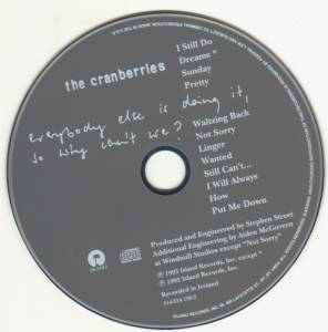 The Cranberries: Everybody Else Is Doing It, So Why Can't We? (CD) - Bild 4