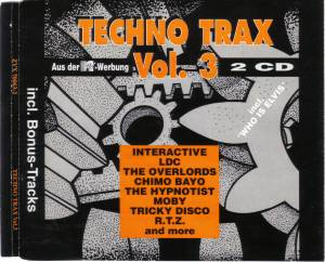 Techno Trax Vol. 03 - Cover