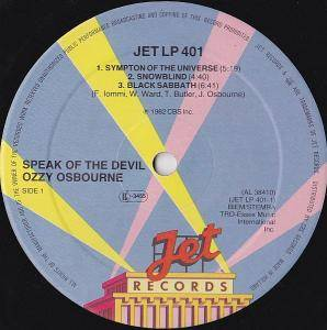 Ozzy Osbourne: Speak Of The Devil (2-LP) - Bild 5