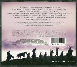 Howard Shore / Enya: The Lord Of The Rings - The Fellowship Of The Ring (Split-CD) - Bild 6