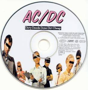AC/DC: Dirty Deeds Done Dirt Cheap (CD) - Bild 3