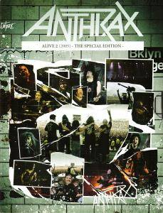 Anthrax: Alive 2 - Cover