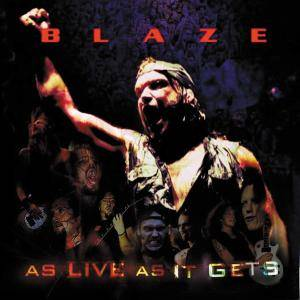 Cover - Blaze: As Live As It Gets