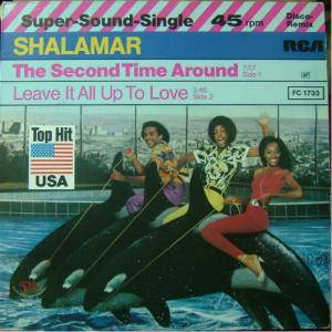 Shalamar: Second Time Around, The - Cover