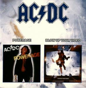 AC/DC: Powerage / Blow Up Your Video - Cover