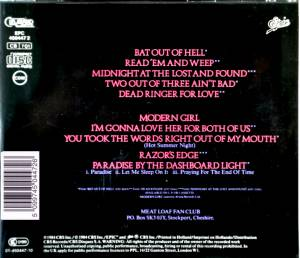 Meat Loaf: Hits Out Of Hell (CD) - Bild 2