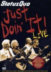 Status Quo: Just Doin' It! Live - Cover