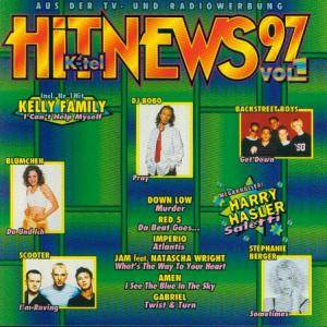 Cover - Harry Hasler: K-Tel Hitnews 97 Vol.1