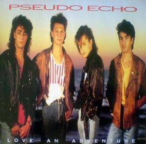 Pseudo Echo: Love An Adventure - Cover