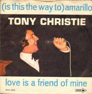Tony Christie: (Is This The Way To) Amarillo - Cover