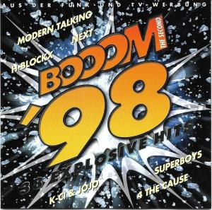 Booom '98 - The Second - Cover
