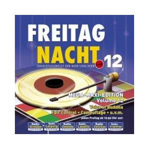 Freitag Nacht - Mega-Maxi-Edition Vol. 12 - Cover