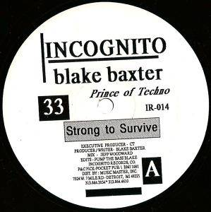 Cover - Blake Baxter: Strong To Survive