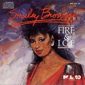 Cover - Shirley Brown: Fire & Ice