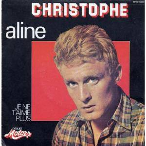 Christophe: Aline - Cover