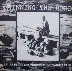 Subvert: Thinning The Herd - Cover
