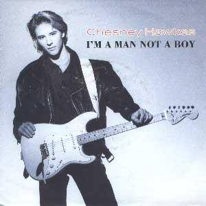 Cover - Chesney Hawkes: I'm A Man Not A Boy