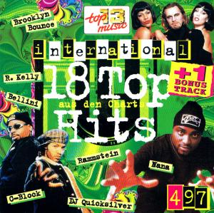18 Top Hits Aus Den Charts - 4/97 - Cover