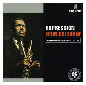 John Coltrane: Expression - Cover
