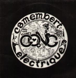 Gong: Camembert Electrique - Cover
