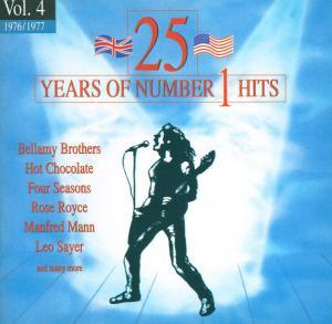 25 Years Of Number 1 Hits - Vol. 04 1976/1977 - Cover
