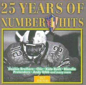25 Years Of Number 1 Hits - Vol. 05 1978/79/80 - Cover