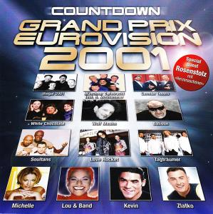 Countdown Grand Prix Eurovision 2001 - Cover