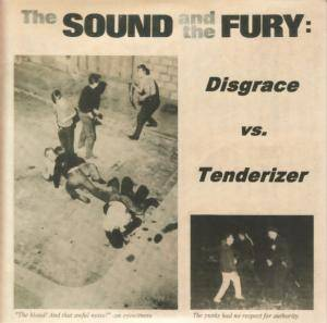 Disgrace: Sound And The Fury, The - Cover