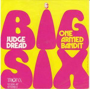 Judge Dread: Big Six - Cover