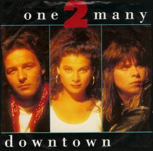One 2 Many: Downtown - Cover