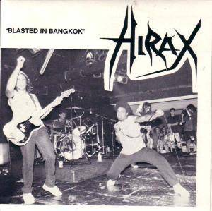 Hirax: Blasted In Bangkok - Cover