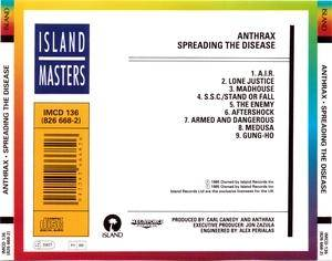 Anthrax: Spreading The Disease (CD) - Bild 3