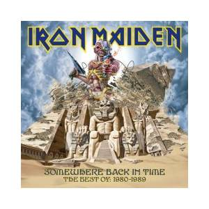 Iron Maiden: Somewhere Back In Time - The Best Of: 1980-1989 - Cover