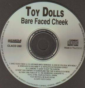 Toy Dolls: Bare Faced Cheek (CD) - Bild 2