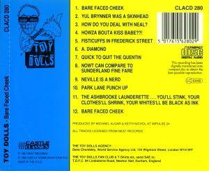 Toy Dolls: Bare Faced Cheek (CD) - Bild 3