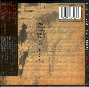 Radiohead: I Might Be Wrong - Live Recordings (Mini-CD / EP) - Bild 2